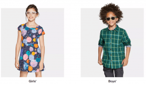 Target Back to School $10 Off Clothing Coupon