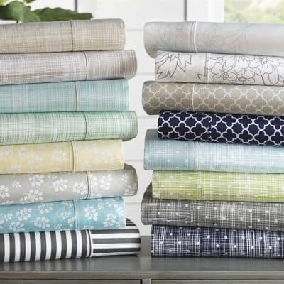 4-Piece Sheet Sets – All Sizes $20.99 (Was $99.99)