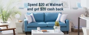 Get $20 to Spend on Anything at Walmart FREE