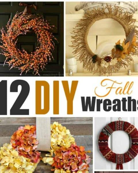 Festive DIY Fall Wreaths To Make