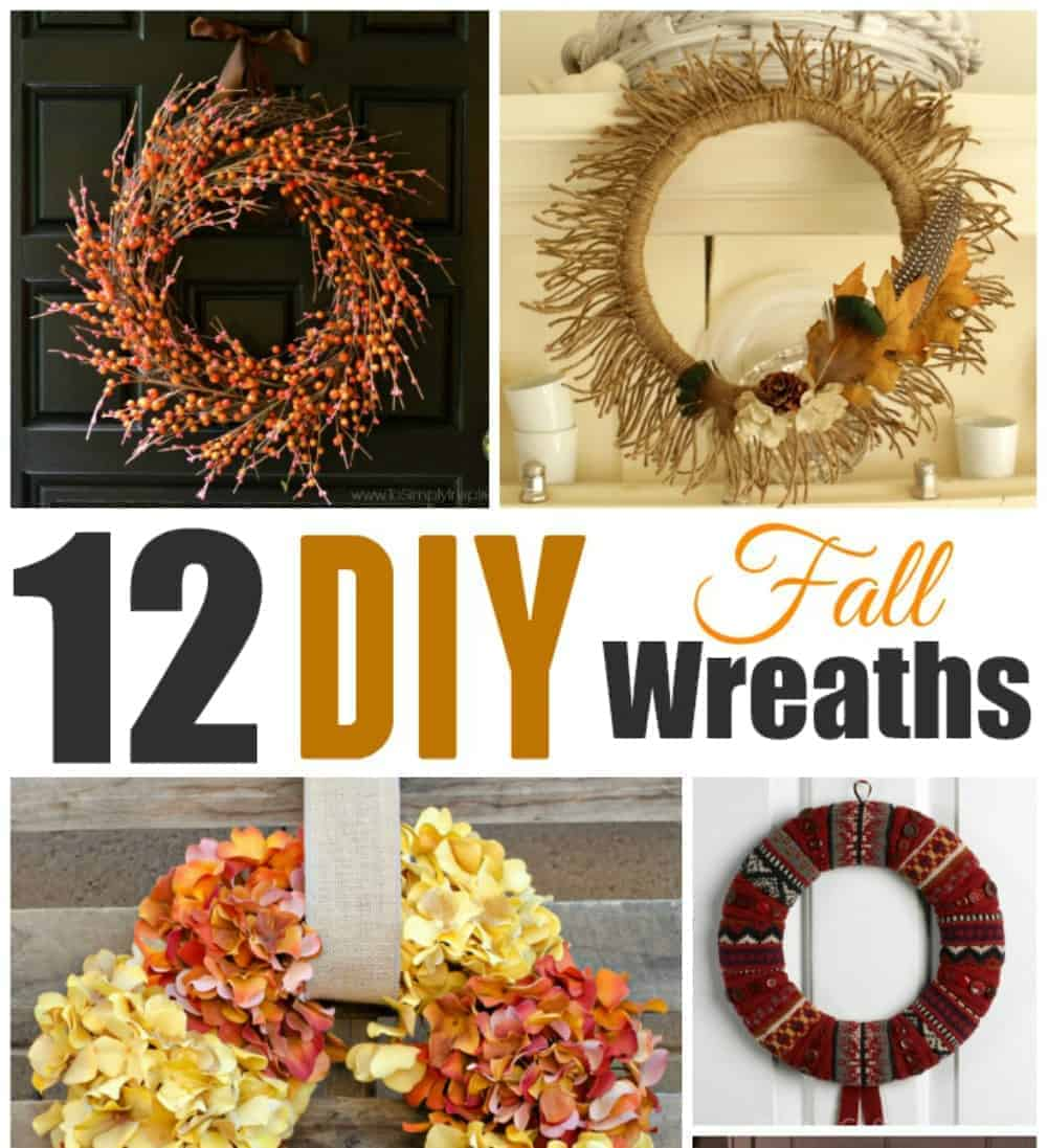 12 Diy Fall Wreaths Saving Dollars Sense