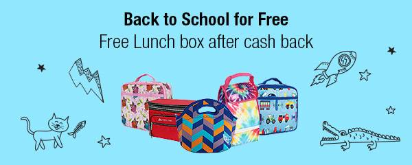 FREE Lunchbag + $5 Walmart eGift Card