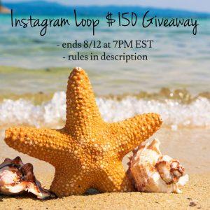Instagram Loop $150 CASH or Amazon Giveaway