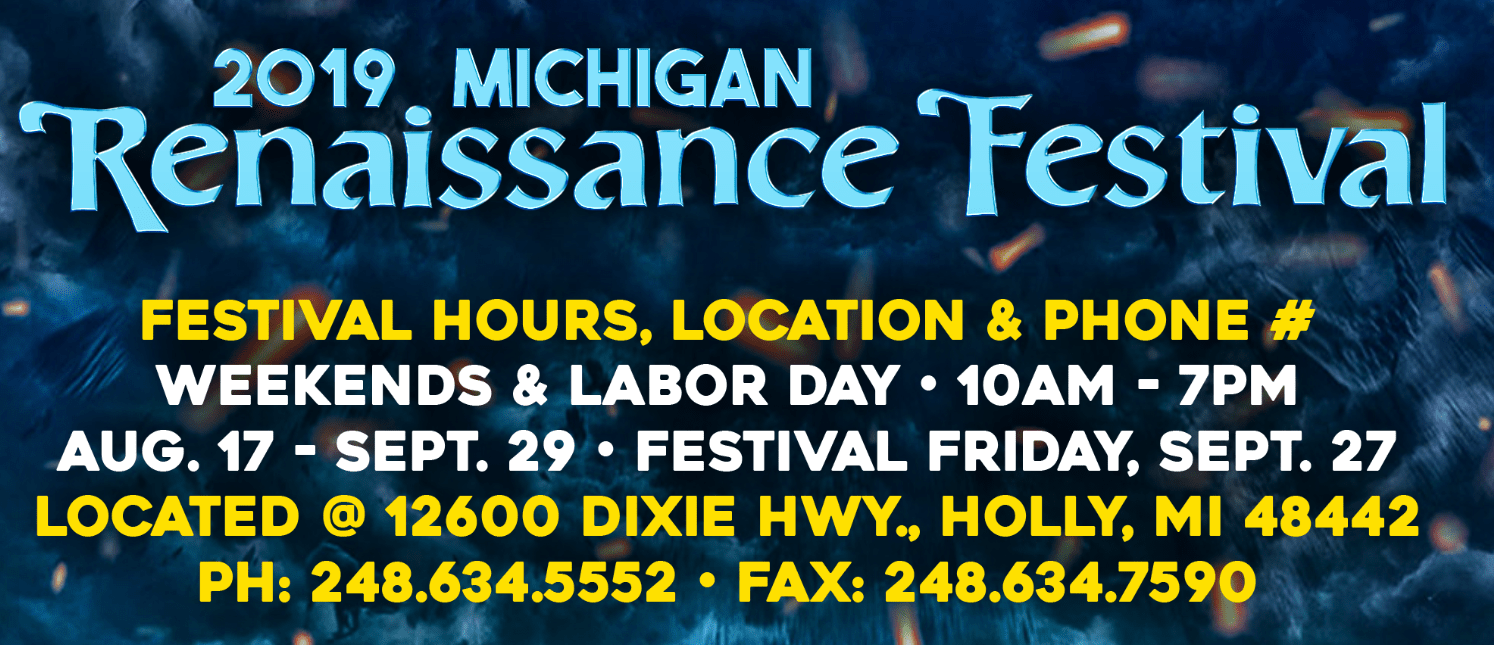Michigan Renaissance Festival Discounted Tickets