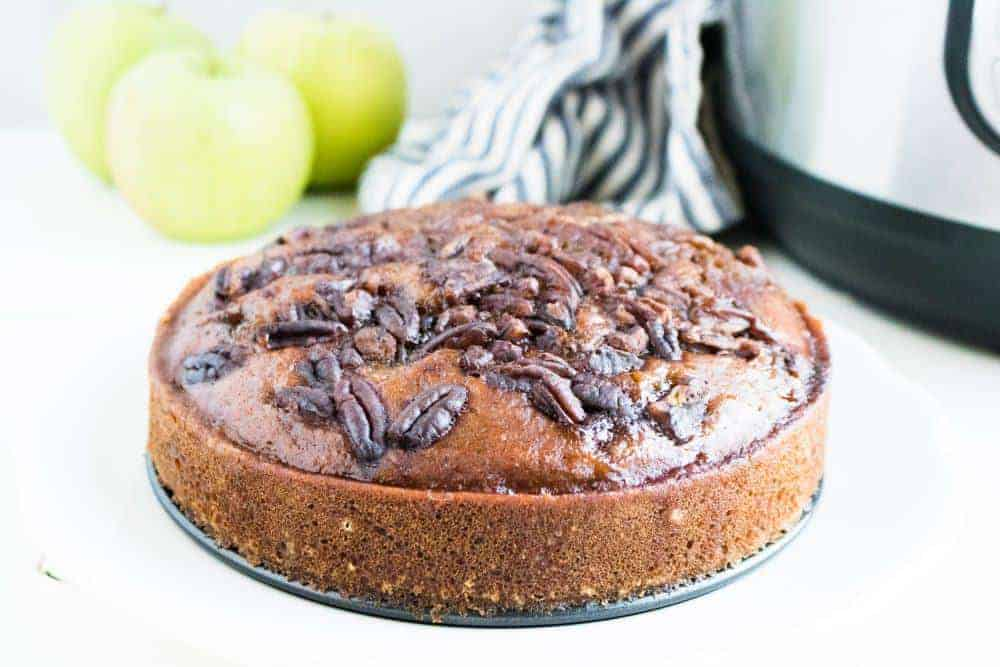 recipe for applesauce cake from scratch