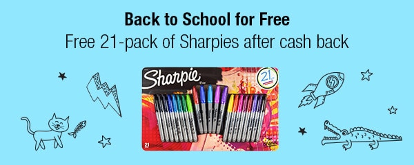 Free Sharpies 21-Pack From Walmart