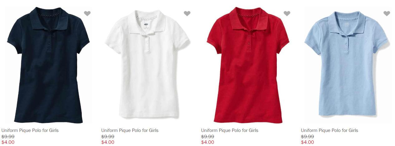The Best School Uniform Deals Starting at $4