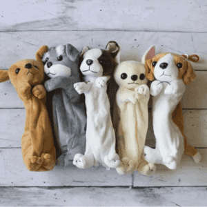 Plush Puppy Pencil Pouches $8.99 (Was $24.99)