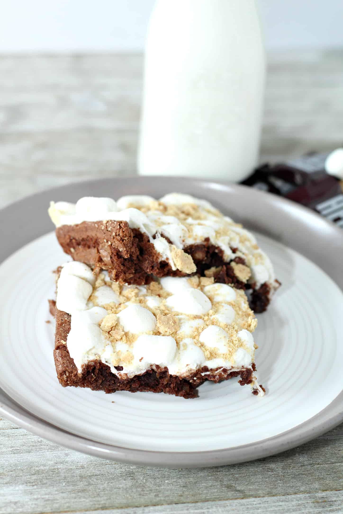 S\'mores Cake Recipe