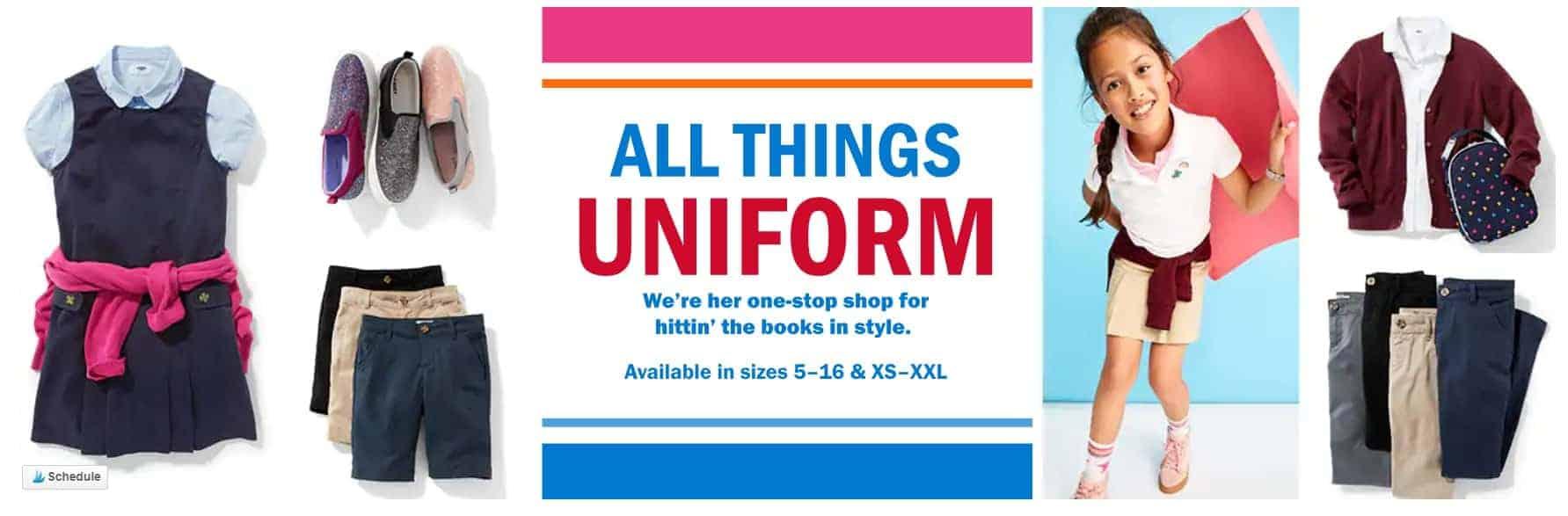 The Best 2018 School Uniform Deals Starting at $4