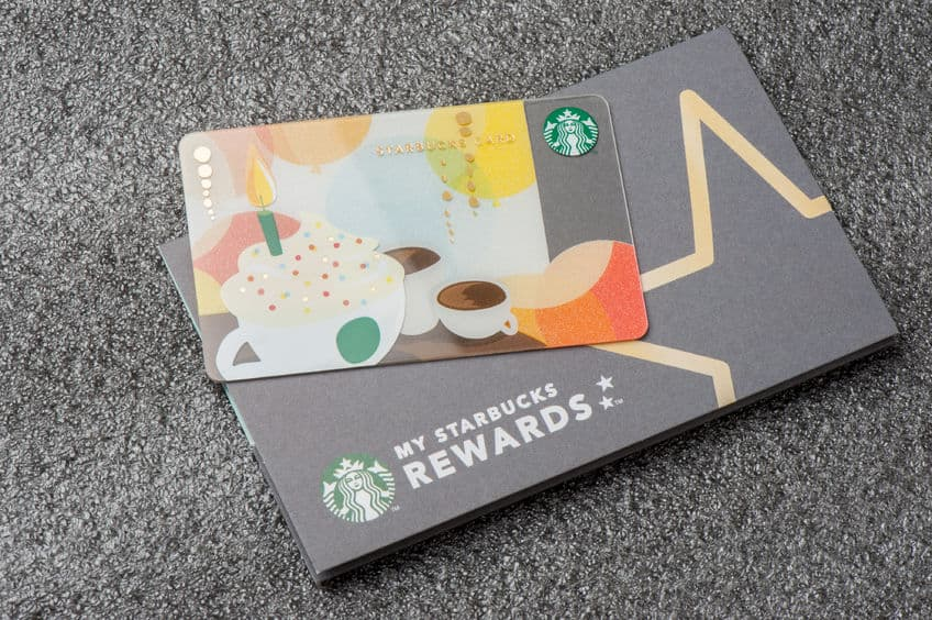 Starbucks gift card and how to save money.