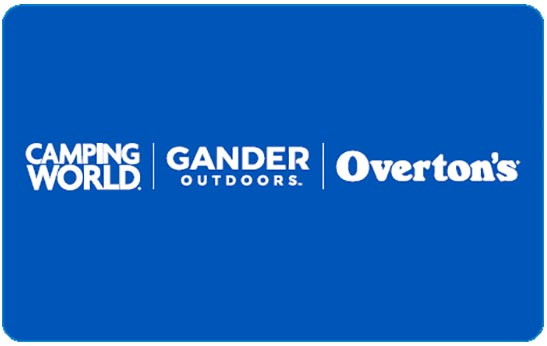FREE Camping World and Gander Outdoors Gift Cards!!