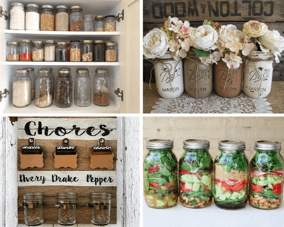 How to use your free Ball mason jars in your home, from decor to canning.
