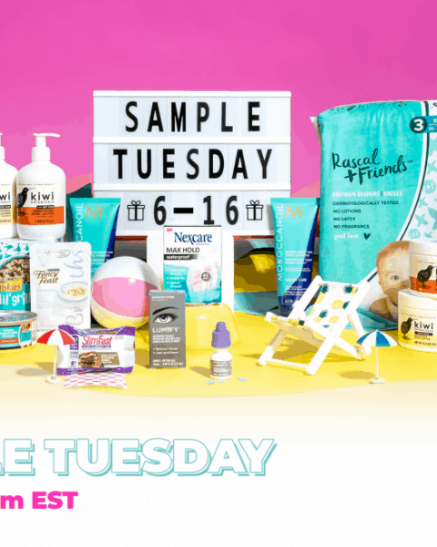 Free featured samples with the PinchMe subscription box.