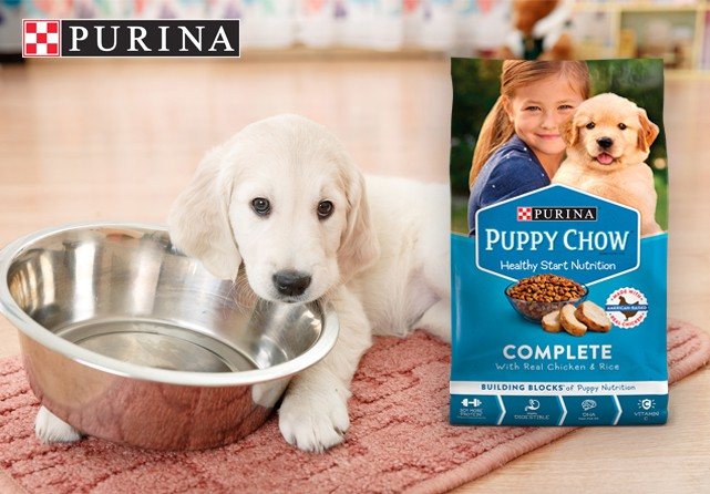 Free Purina Puppy Chow
