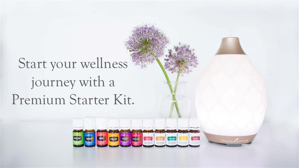 Essential oils in the Young Living Starter Kit