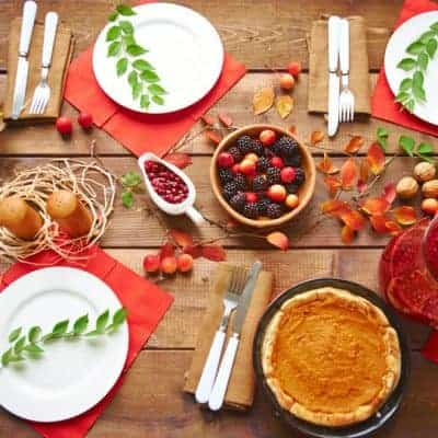 plan thanksgiving dinner