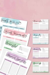 Free Printable Meal Planner – My Gift to YOU!