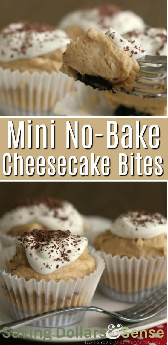 Mini Peanut Butter Cheesecake Bites Recipe