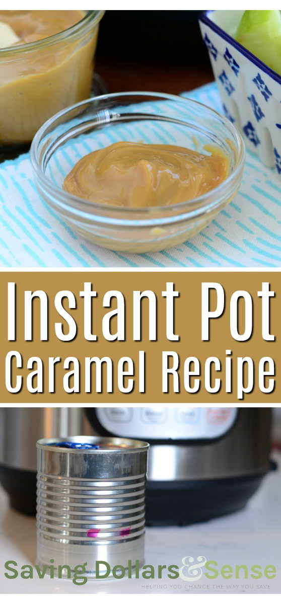 Dulce de Leche Instant Pot Recipe