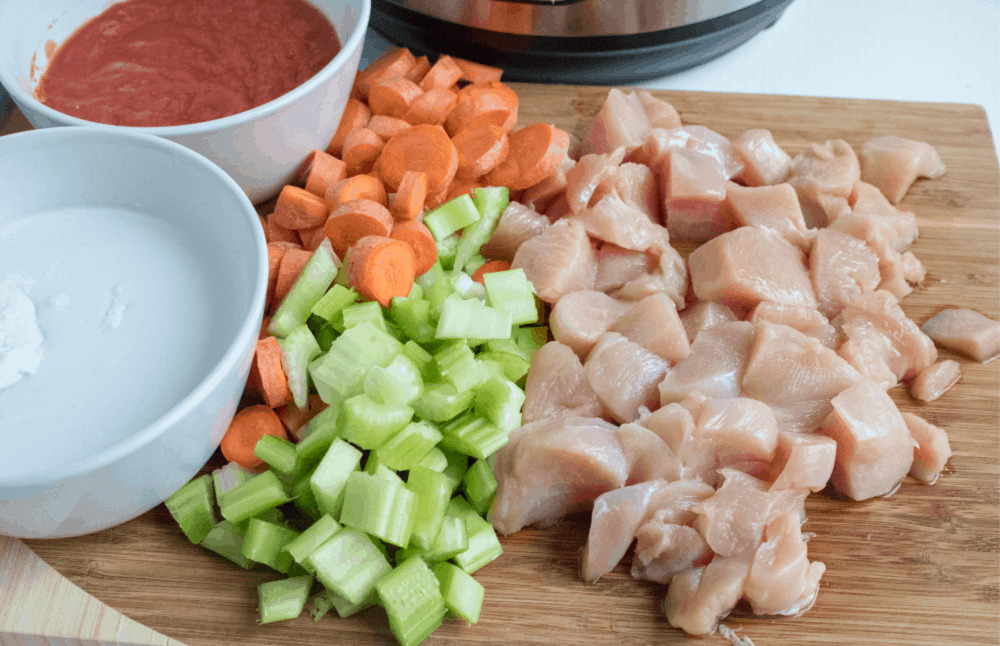 curry chicken ingredients.