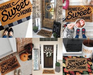 Free Home Sweet Home Doormat
