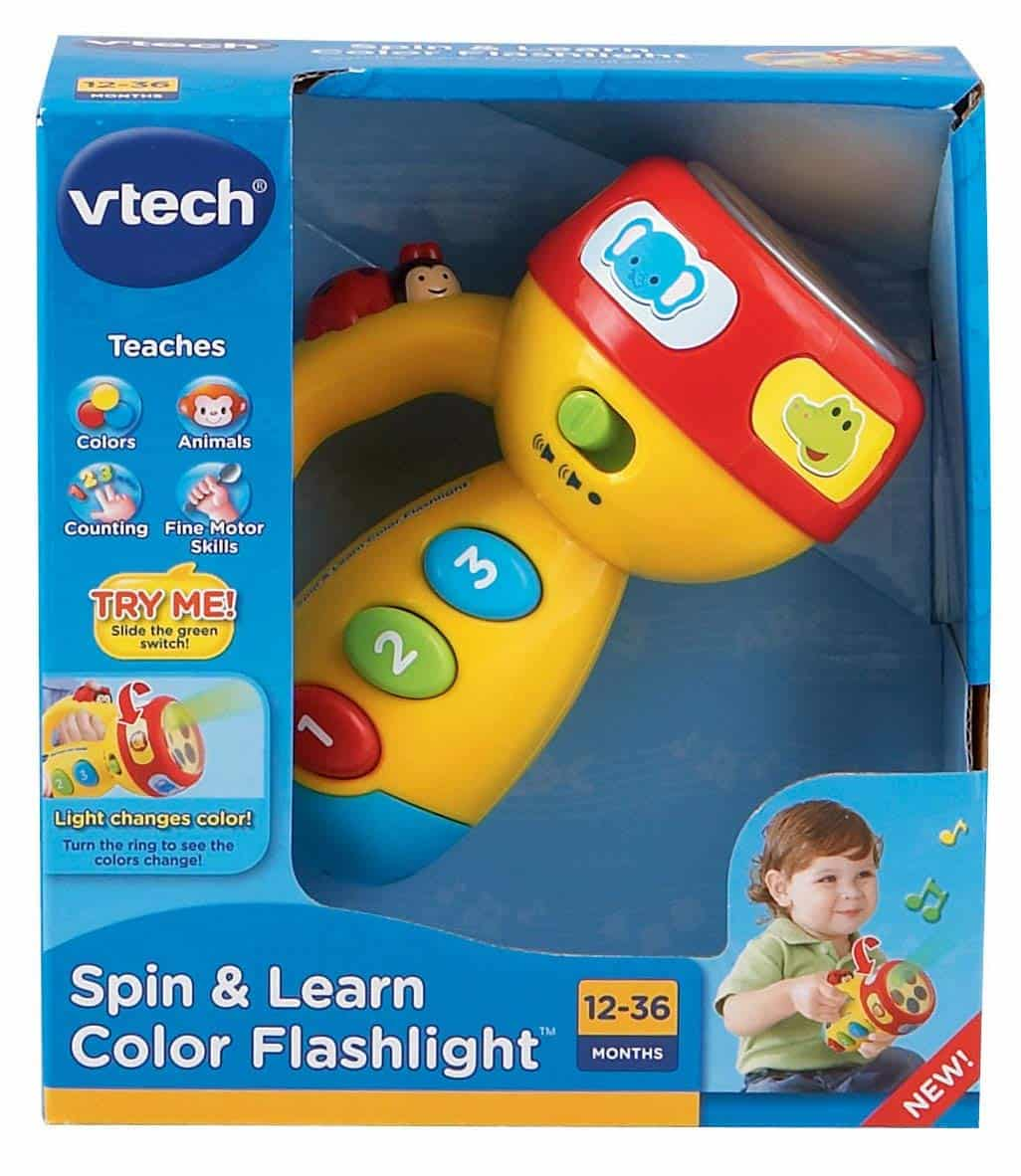 vtech spin and learn color flashlight pink online exclusive