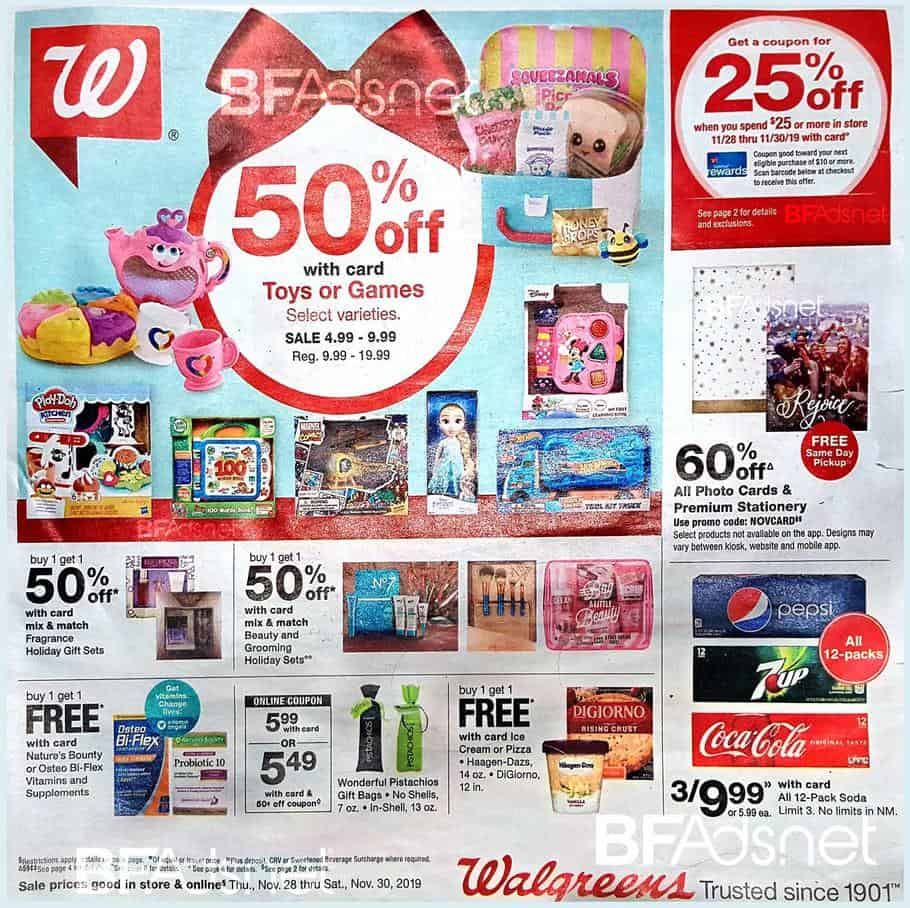 walgreens black friday sales 2019