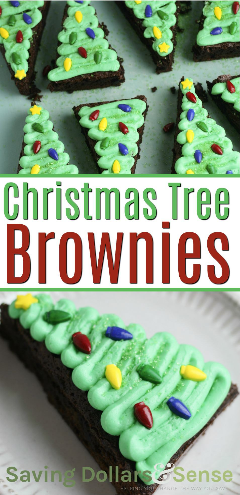 The Best Christmas Brownies