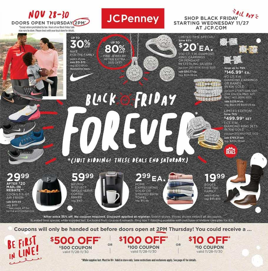 JCPenny Black Friday Ad 2019