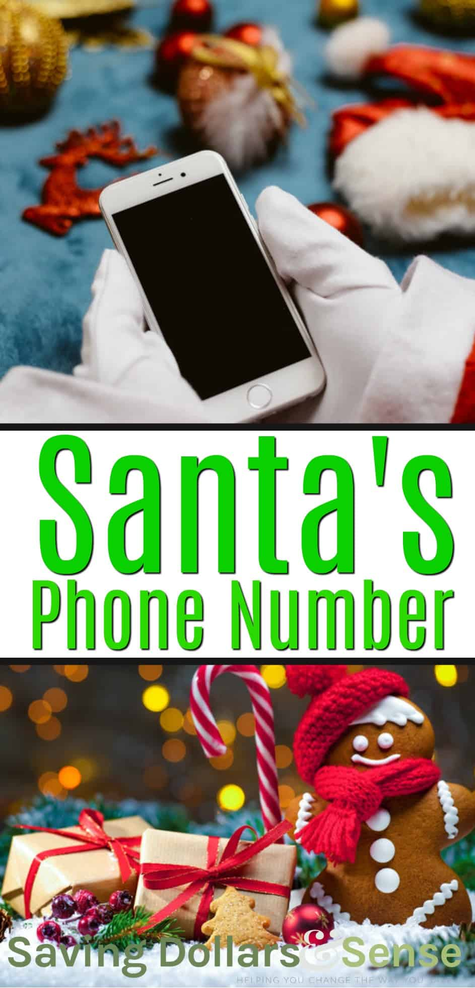 what is santa claus's phone number