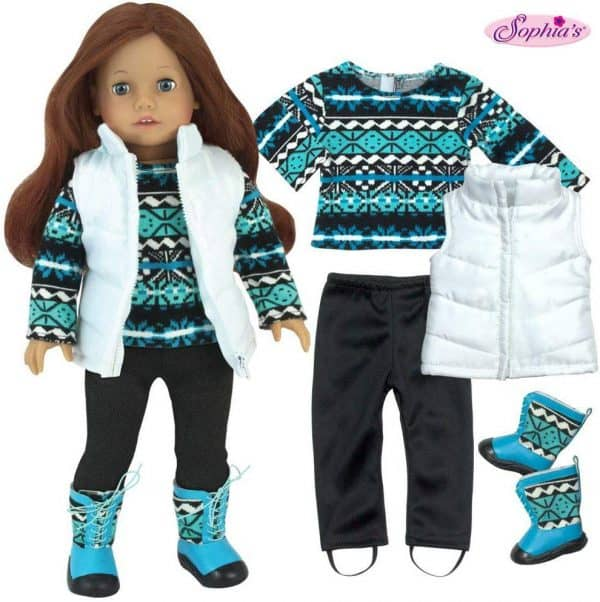 winter doll clothes