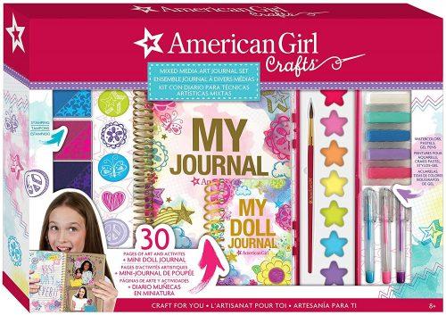american girl mixed media journal kit