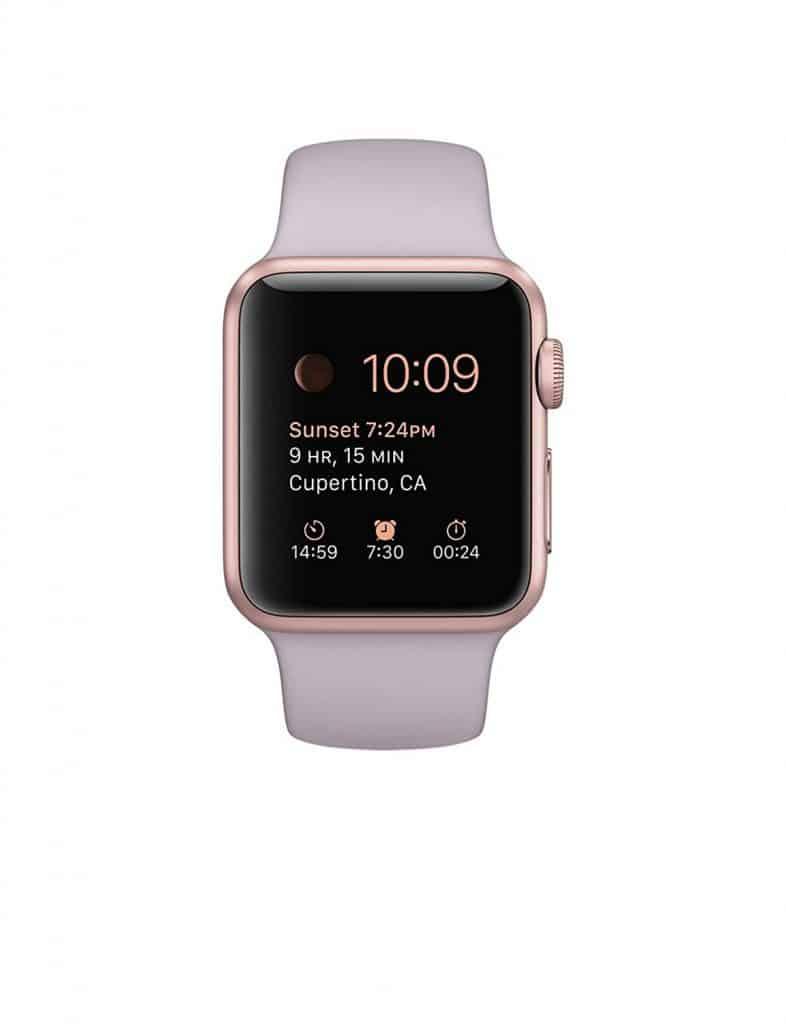 Apple sport smart watch.