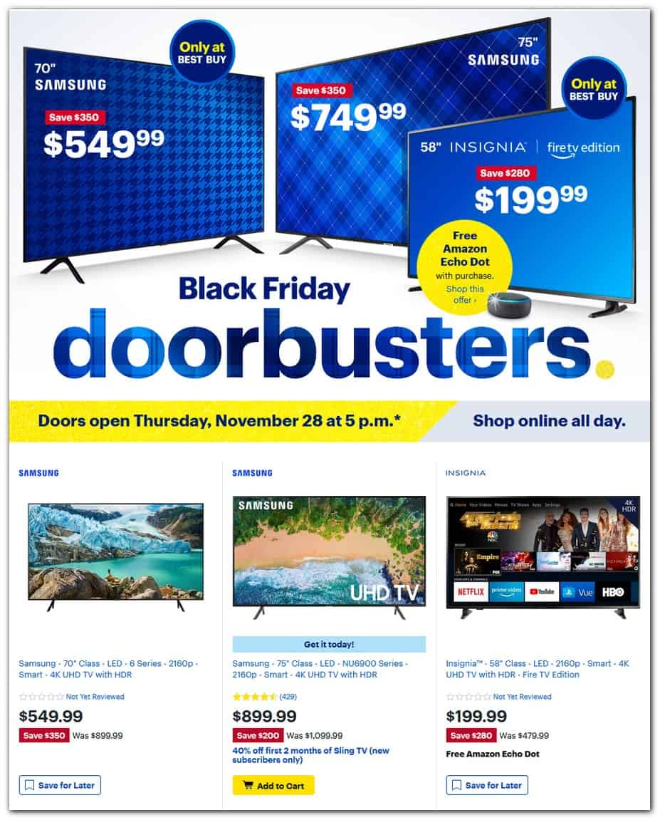best buy black friday sale