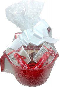 Betty crocker baking lover's delight gift basket.