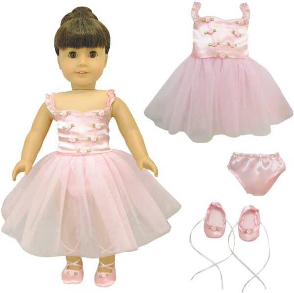 Pink butterfly closet ballerina dress.