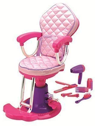 Salon chair and accessories