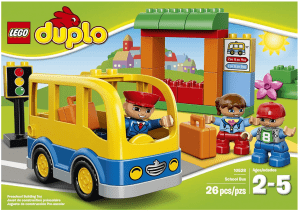 LEGO DUPLO Town School Bus Building Toy Review