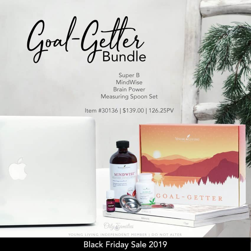 Goal-getterr bundle from Young Living Black Friday deals.