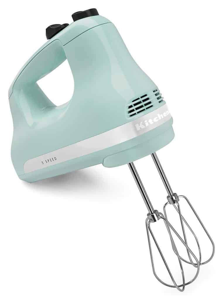 Kitchen Aid 5-speed hand mixer.