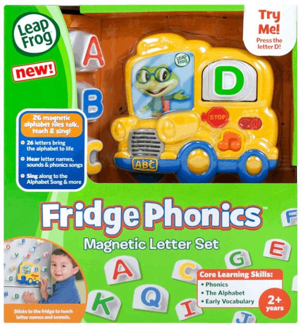 LeapFrog Fridge Phonics Magnetic Letter Set Review