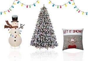 Lowe's Get $10 in Holiday Decor FREE