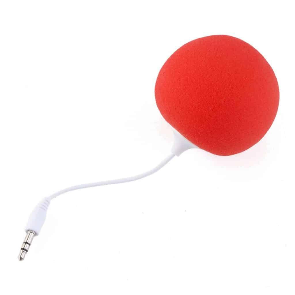 Pixnor foam balloon speaker.