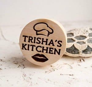 personalized embossing cookie stamp