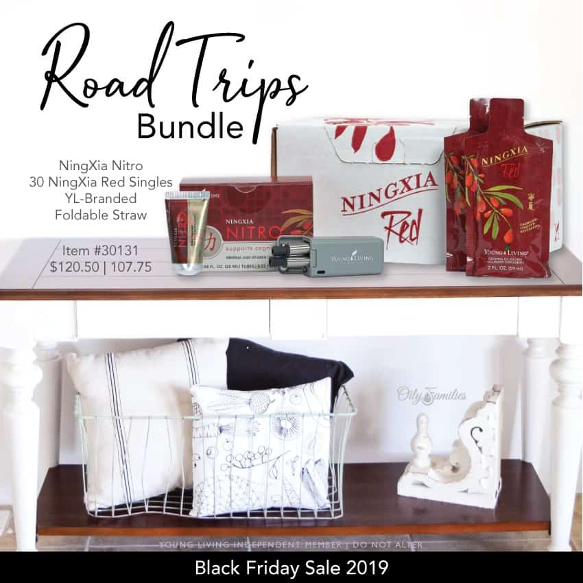 Road trips bundle from Young Living black friday sale.