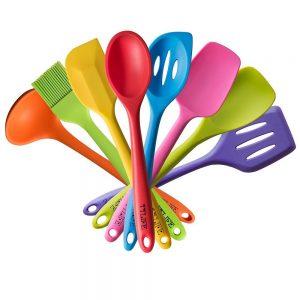 TTLIFE silicone baking utensils.
