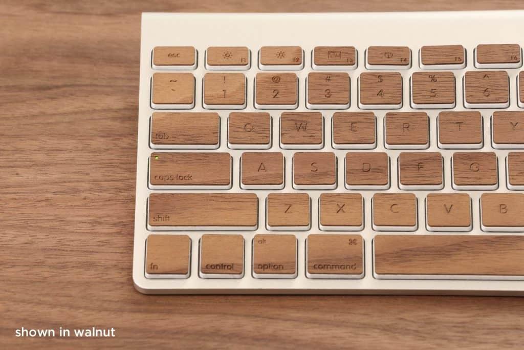 walnut keyboard for apple