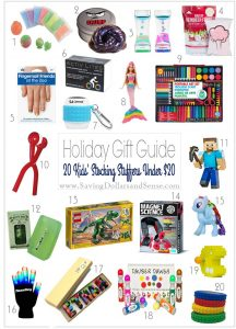 Stocking Stuffer Ideas for Kids Under $20
