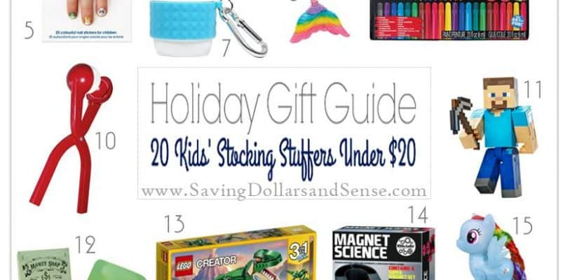 Stocking Stuffer Ideas for Kids Under $20